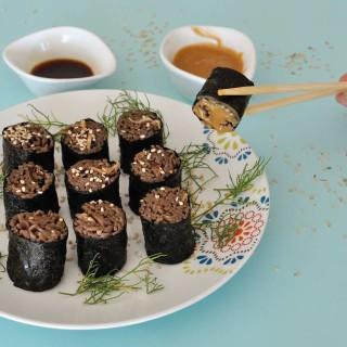 Vegan Soba Sushi