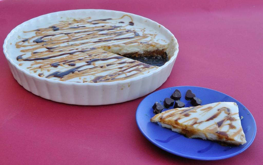 עוגת פנקוטה לוטוס טבעונית