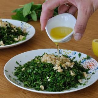 Herbs salad