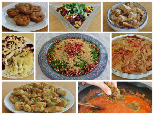 Vegan Rosh Hashana (Jewish New Year) Dinner Recipes
