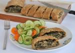 Chard/Spinach Pinwheel Bread