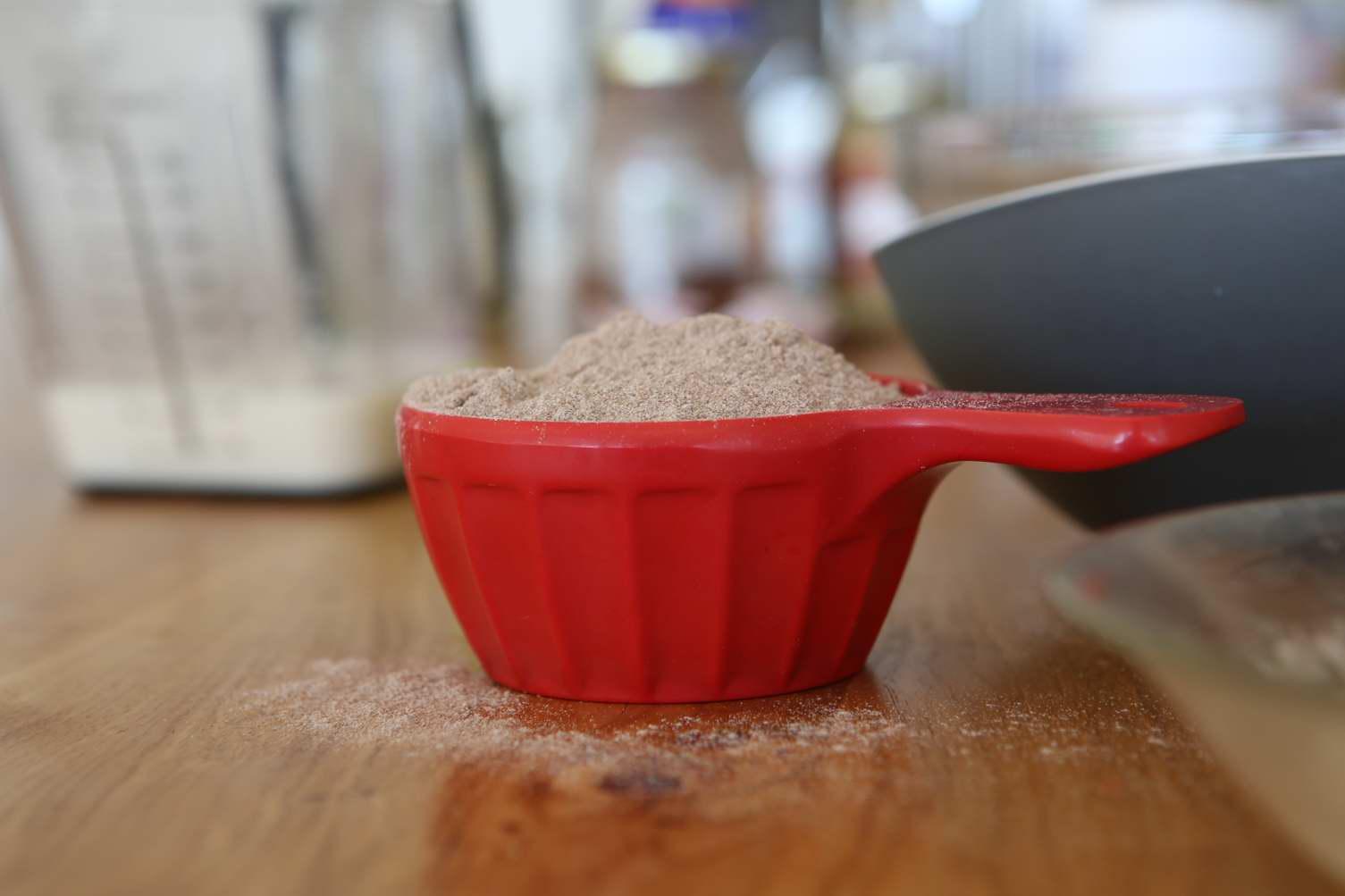 Vegan Teff Flour Chocolate Muffins