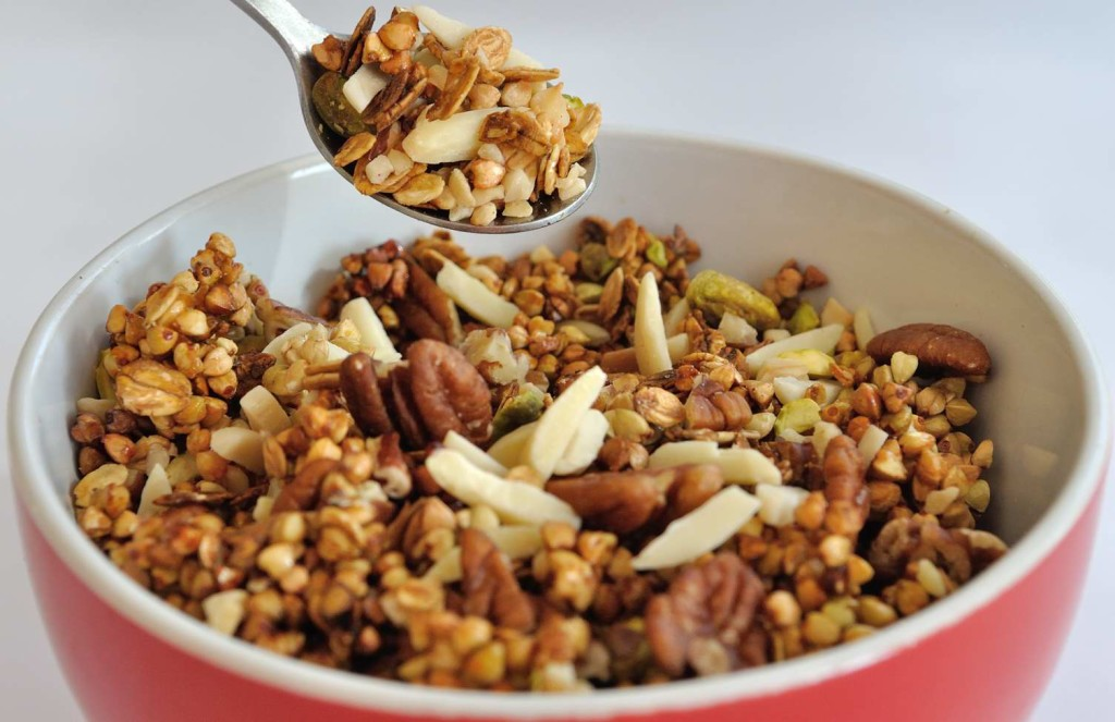Buckwheat (and some more) Granola