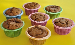 One Bowl Healthy Halva Vegan Muffins