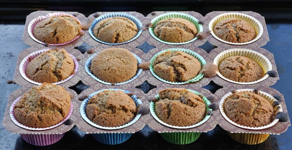 One Bowl Healthy Halva Vegan Muffins