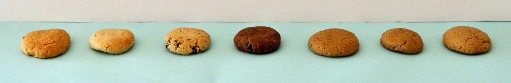 עוגיות בריאות טחינה שקדים חמאת בוטנים