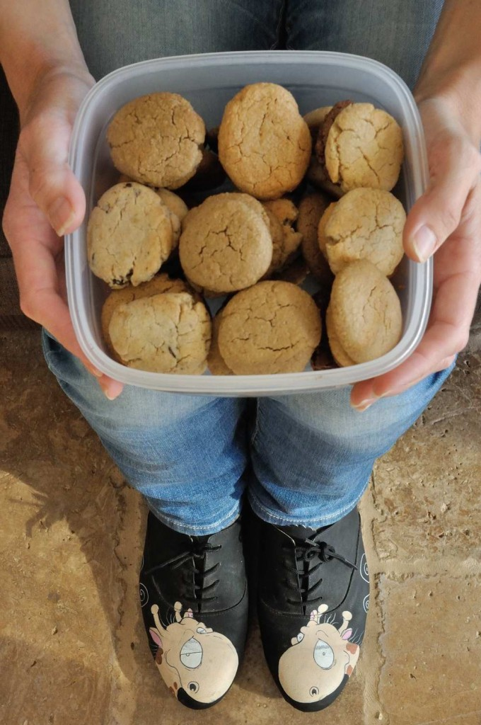 Healthy Tahini/Almond/Peanut Butter Cookies (Vegan + Gluten Free)