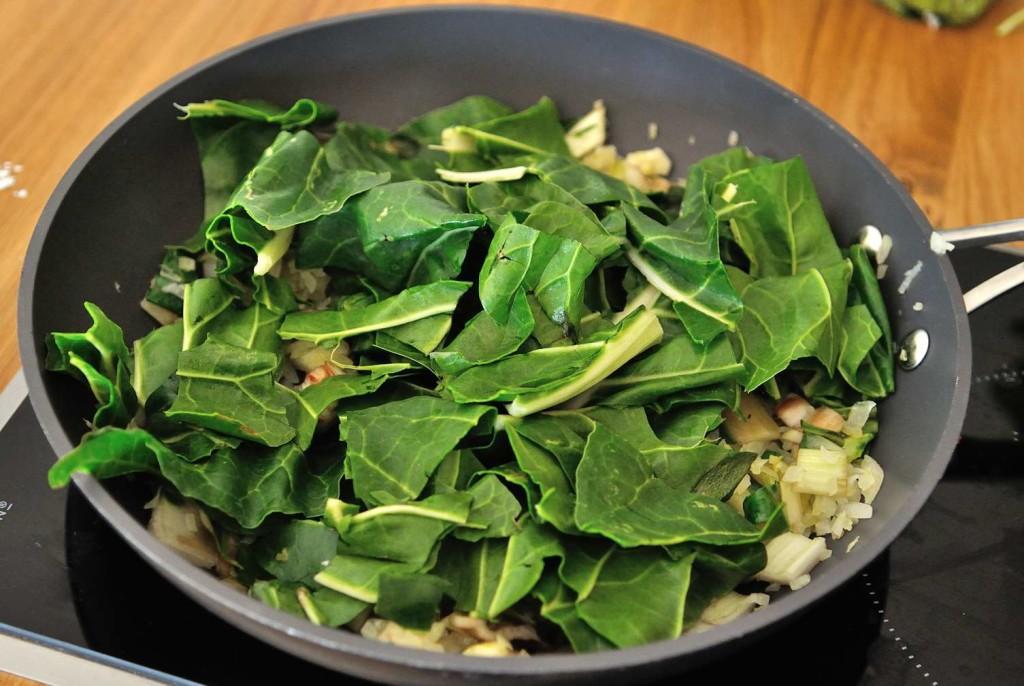 Vegan Green Shakshuka