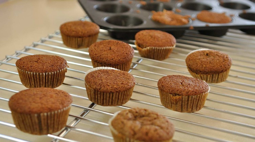 Almond Teff Muffins (Vegan + Gluten Free)