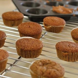 Almond Maple Muffins (Vegan + Gluten Free)