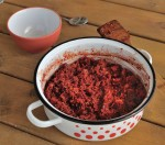 Freekeh Beet Risotto