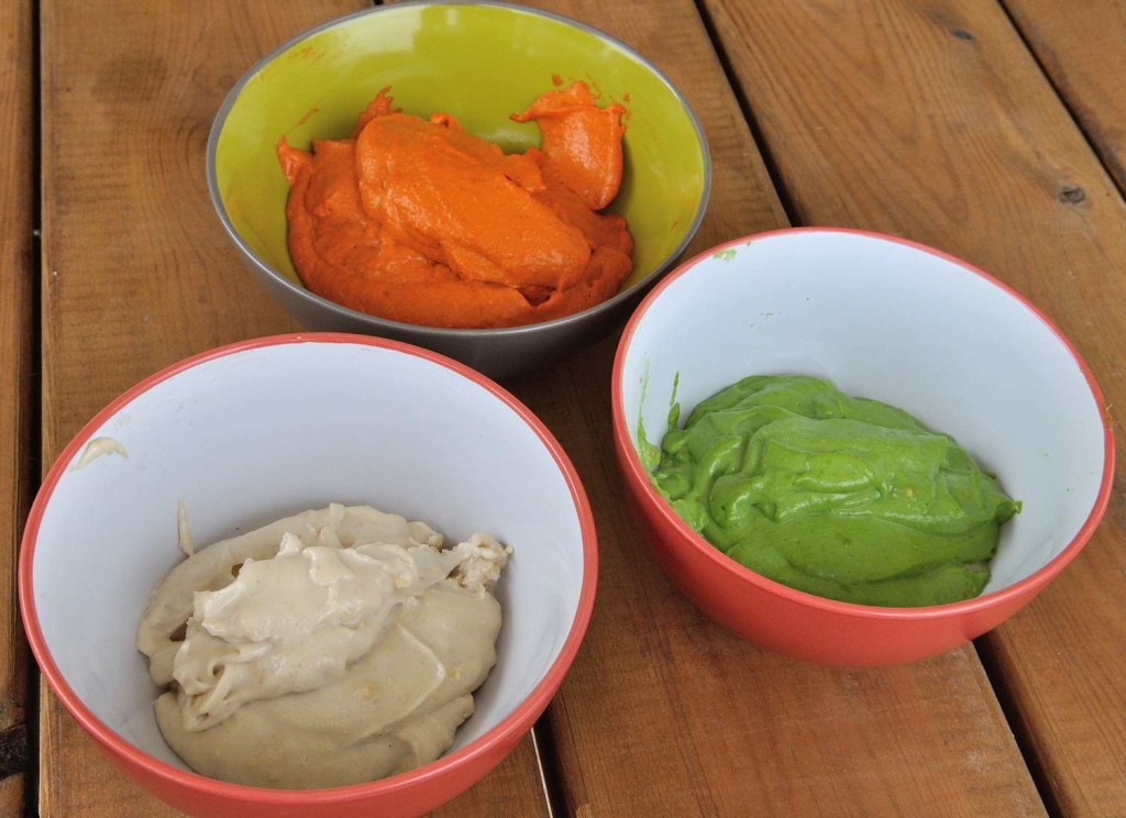 Spreadable Cashew Cheese, 3 ways