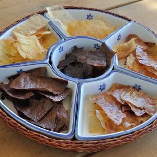 Baked Falafel Flavoured Chips