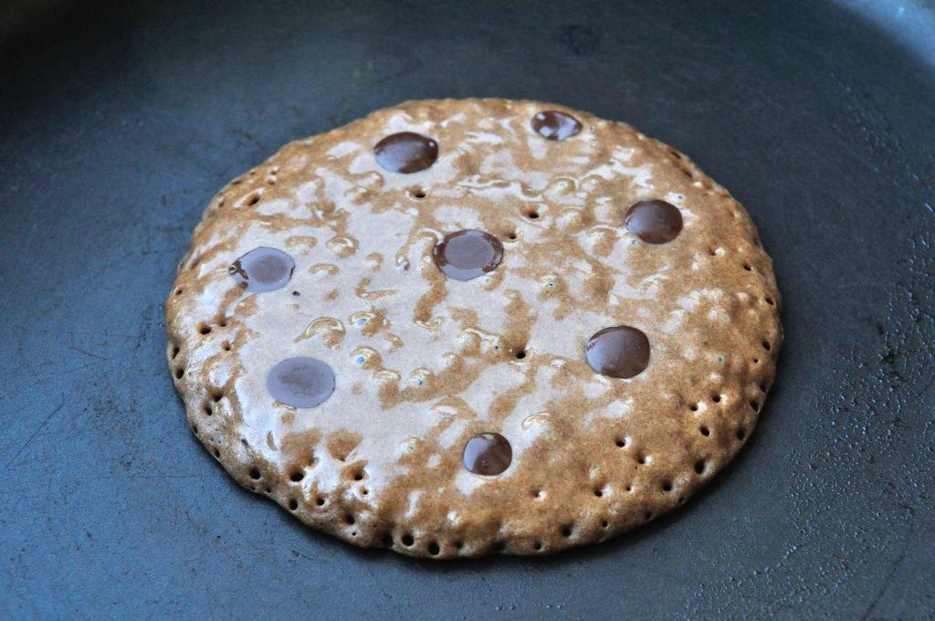 Gluten Free Chocolate Vegan Pancake