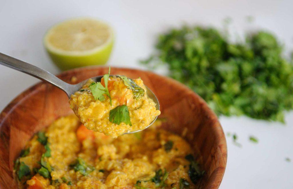 Vegan Quinoa Curry