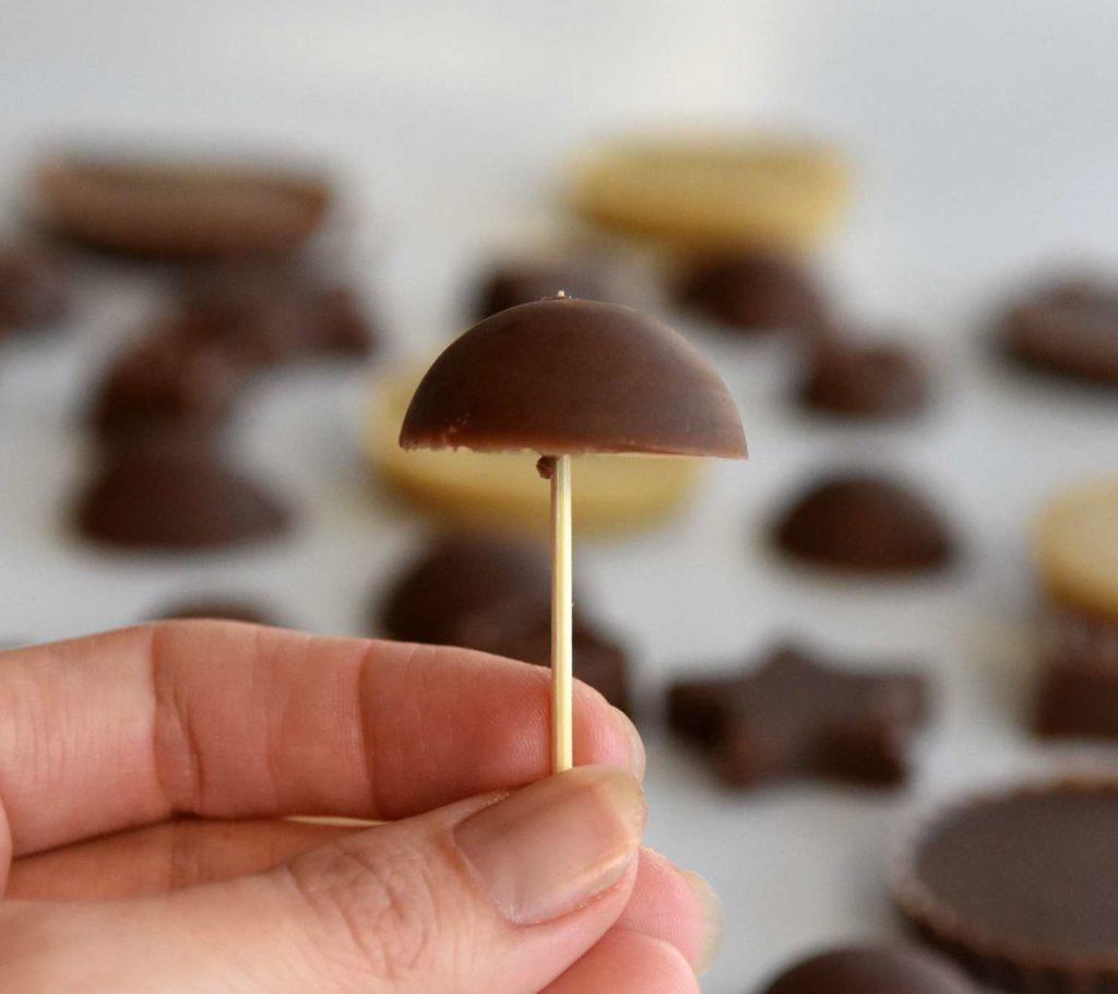Homemade Vegan Chocolate Pralines