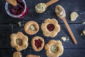 Vegan (Gluten Free) Linzer Cookies