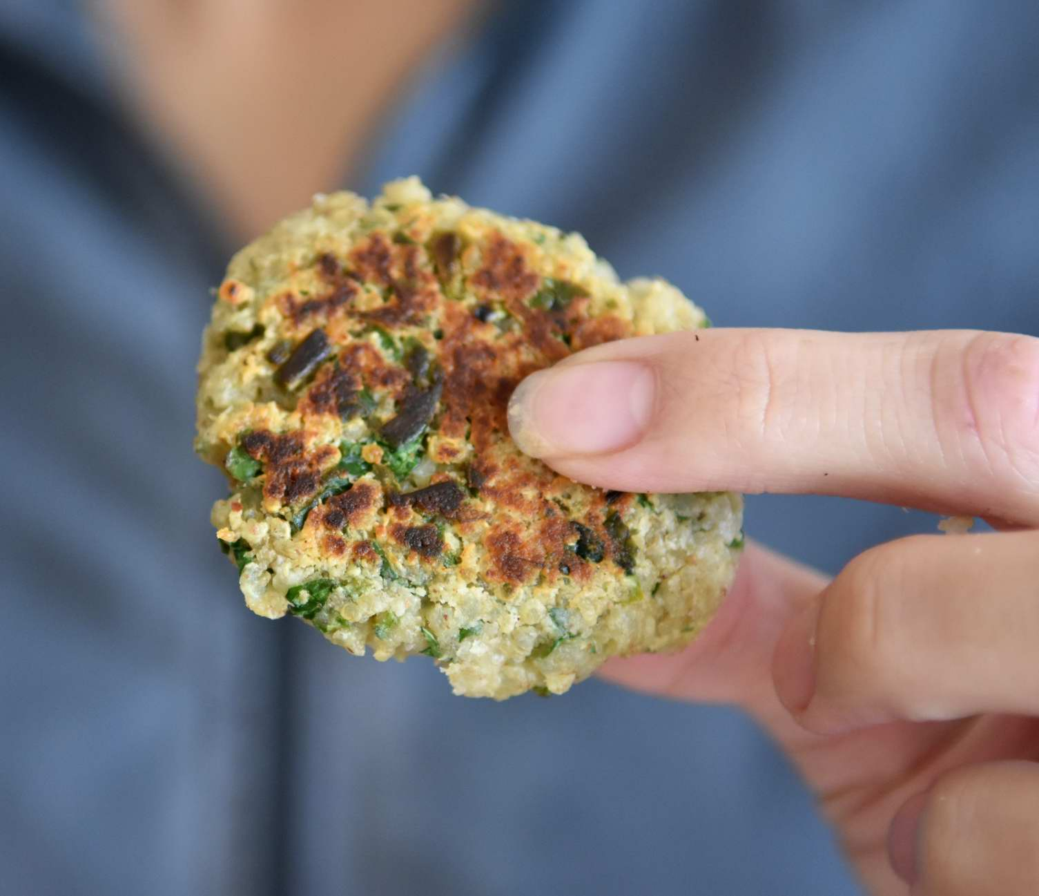 These Are Perfect For That Quinoa Leftovers From Yesterday You Were'nt Sure  What To Do With, Or For A Fresh New Cooked Quinoa Either Way They Are Easy  To
