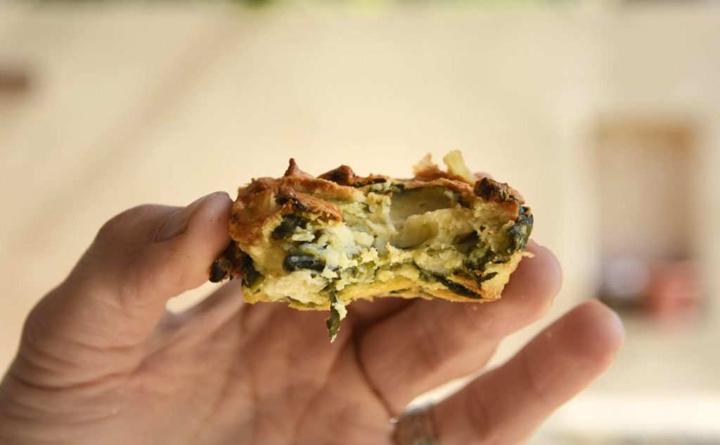 Mini Chard Quiches (Gluten Free)