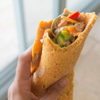 Vegan Omelette Roll