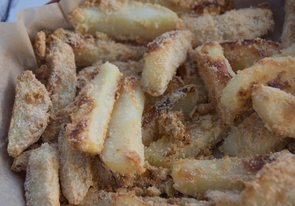 Vegan Parmesan Fries